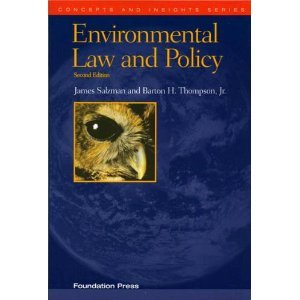 9781599410883 book paperback textbook school university Environmental Law and Policy