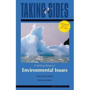 9780073514451 book textbook Taking Sides Clashing Views on Environmental Issues paperback