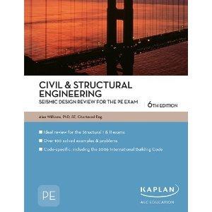 978427761255 book Civil & Structural Engineering Seismic Design Review PE Exam Preparation Paperback