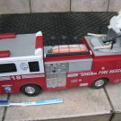 RED TONKA FIRETRUCK fireman TRUCK AS-IS BIG KIDS tractor CHILDREN VINTAGE COLLECTIBLE FIGURINE