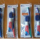 4 lot DENTAL TRAVEL TOOTHBRUSH TOOTHPASTE COLGATE COVER SET + FREE BAG HEALTH FAMILY CARE