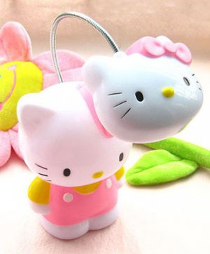 Pink hello kitty desk reading light lamp gift children kids bedroom