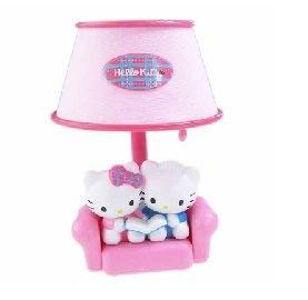 Love Hello Kitty Desk Reading Light Lamp Gift Children Kids Bedroom Home Decor Accessory Electronic