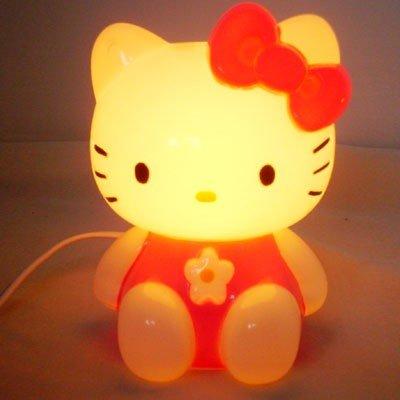 Red hello kitty desk reading light lamp gift children kids bedroom