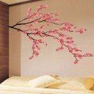 pink color - CHERRY BLOSSOM Decor Mural Art Wall Sticker Decal interior home design