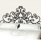 A PRINCESS black - Wall Decal Sticker Vinyl headboard Design Decor Wall Sticker interior home