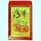 J - GIFT ENVELOPE FUN HOME DECOR Colorful Red Money Envelopes Oranges Fruit
