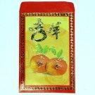 J - GIFT ENVELOPE FUN HOME DECOR Colorful Red Money Envelopes Oranges Fruit