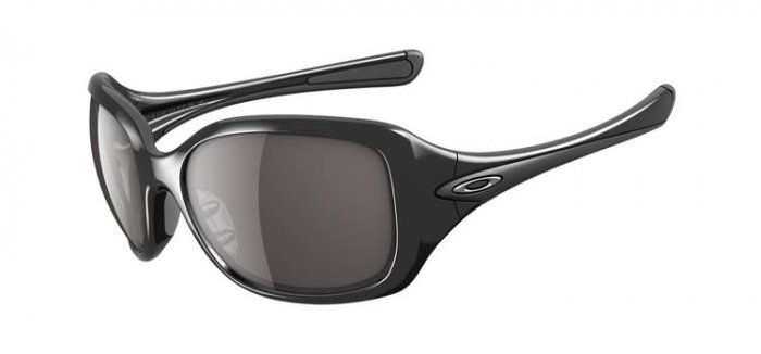 AUTHENTIC BLACK GRAY OAKLEY SCRIPT WOMEN'S SUNGLASSES SPORTS ACTIVE WEAR ACCESSORIES