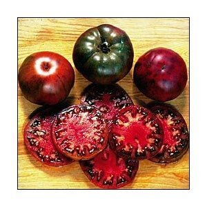 Black Krim Tomato 30 Seeds - Russian Heirloom home garden plant