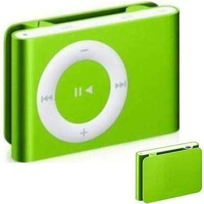 green Mini Clip Mp3 Player 2 4 8 16 GB Micro SD NEW electronic accessory fitness health running
