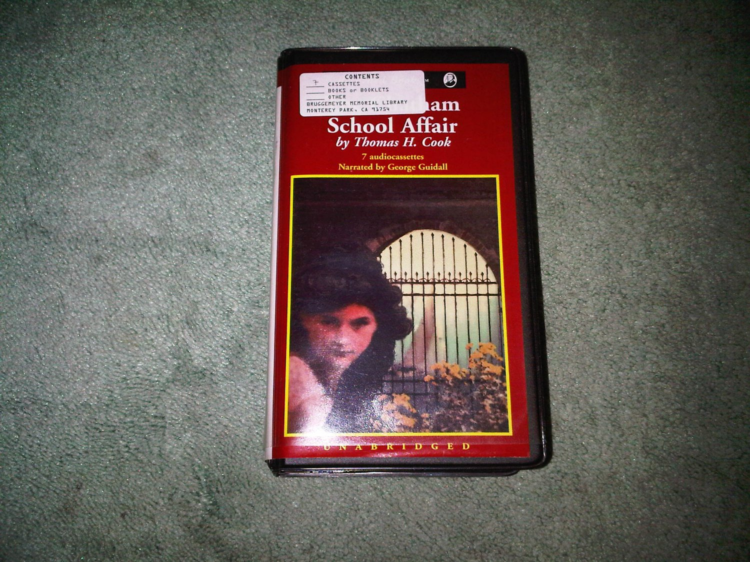 SCHOOL AFFAIR THOMAS COOK casette audio book books home education FICTION