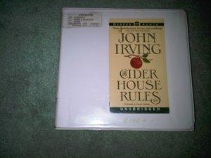 CIDER HOUSE RULES JOHN IRVING casette audio book books home education FICTION