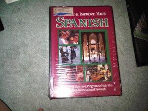 RED casette audio SPANISH beginner book books home family lesson education