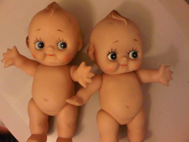 CUPIE KEWPIE VINTAGE BABY DOLL 1940'S CHILDREN'S TOY DECORATIVE COLLECTIBLE FIGURINE HOME
