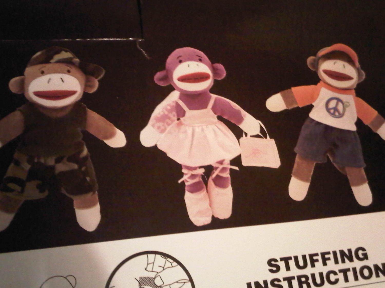 CREATE SOCK MONKEY GIFT CHILDREN'S BALLERINA DOLL TOY DECORATIVE COLLECTIBLE FIGURINE HOME