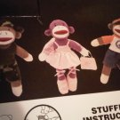 CREATE SOCK MONKEY GIFT CHILDREN'S BALLERINA DOLL TOY DECORATIVE COLLECTIBLE FIGURINE HOME