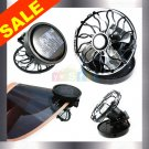 Solar Cell Fan Sun Power energy Panel Clip-on Cooling hat electronic home garden accessory