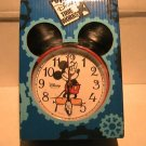 A Disney Mickey Mouse Alarm Clock NEW GIFT KIDS ROOM HOME DECOR COLLECTIBLE