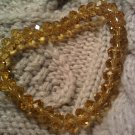 new bracelet amber yellow color crystal JEWELRY WOMEN'S FASHION CLOTHING ACCESSORY
