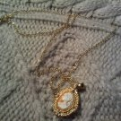 victorian neclace lady VINTAGE JEWELRY WOMEN'S FASHION CLOTHING ACCESSORY