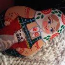 small russian doll pin lady cat JEWELRY WOMEN'S FASHION CLOTHING ACCESSORY