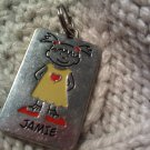 jamie keychain pendant VINTAGE JEWELRY WOMEN'S FASHION CLOTHING ACCESSORY
