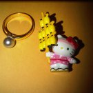 light japan HELLO KITTY CHARM decorative figurine collectible gift cartoon kids figure doll