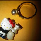 JAPAN LIGHT BOY HELLO KITTY CHARM decorative figurine collectible gift cartoon kids figure doll