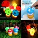 NEW Mini Baby Nursery Bedside LED Mushroom Lamp Night Light electronic accessory home decor