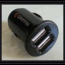 Griffin PowerJolt Dual Micro Double USB Port Car Charger for iPhone Samsung NEW electronic accessory