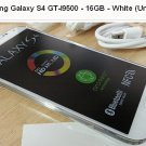 Samsung Galaxy S4 GT-I9500 - 16GB - White Frost Unlocked GSM 13MP electronic smart