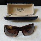 Maui Jim MJ111-01 brown Palms Sunglasses women's accessory eye hawaii