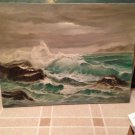 Ocean beach wave art funk decorative collectible painting home decor