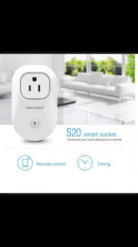 Orvibo electronic US Plug Wifi Cell Phone Wireless Remote Control Switch Timer Power Wall Socket