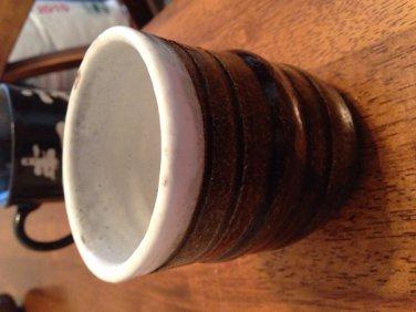 Japanese ceramic tea cup handmade kitchen accessory planter