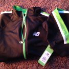 New balance kids 7 clothing boys girls track jacket green black white