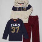 Medium IZod kids 5/6 clothing boys girls lot hoodie shirt pants red blue