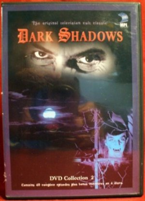 Dark Shadows DVDs 2 discs