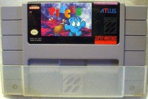 Pieces Super Nintendo Game