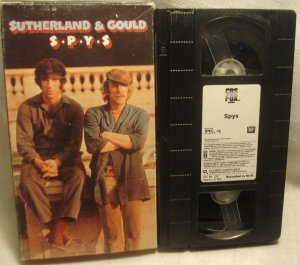 Spys VHS Jim Sutherland & Gould