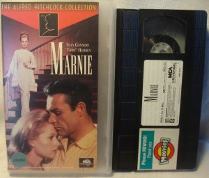 "Marnie VHS Sean Connery, ""Tippi"" Hedres"