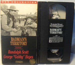 Badman's Territory VHS Randolph Scott