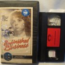 Unfinished Business VHS Isabelle Mejias, 1984