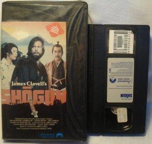 Shogun VHS James Clavell Richard Chamberlain 1980