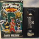 Power Rangers VHS Wild Force Lion Heart