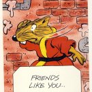 Master Splinter Friendship Greeting Card - Ninja Turtles - TMNT