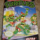 Teenage Mutant Ninja Turtles NES Game w/ Box & Manual - TMNT - Nintendo