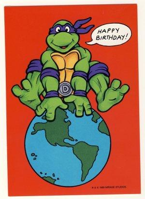 ninja turtle birthday card
