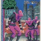 TMNT Japanese Trading Card - PP Card #28 - Teenage Mutant Ninja Turtles